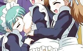 Honoo no Haramase Tenkousei - horny maids